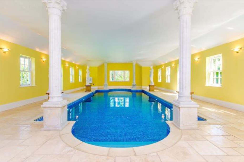 Indoor Luxury Heated Pool
