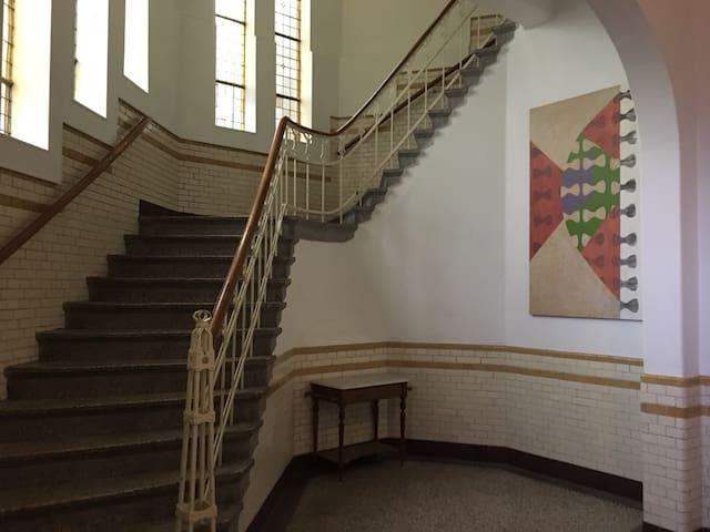 Een school waar je met plezier verblijft.