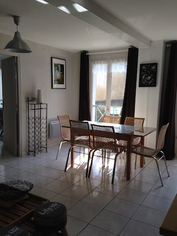 Lumineux T3 parking St Malo Solidor - St-Malo - Apartment