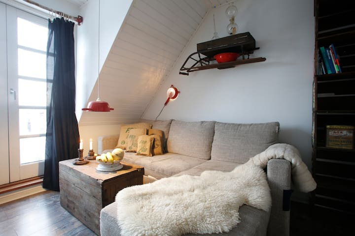 televisonknown secondhanddesign apartment - Glamsbjerg - Apartamento