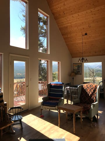 Bjorn's cabin, our Fairplay home with a view!