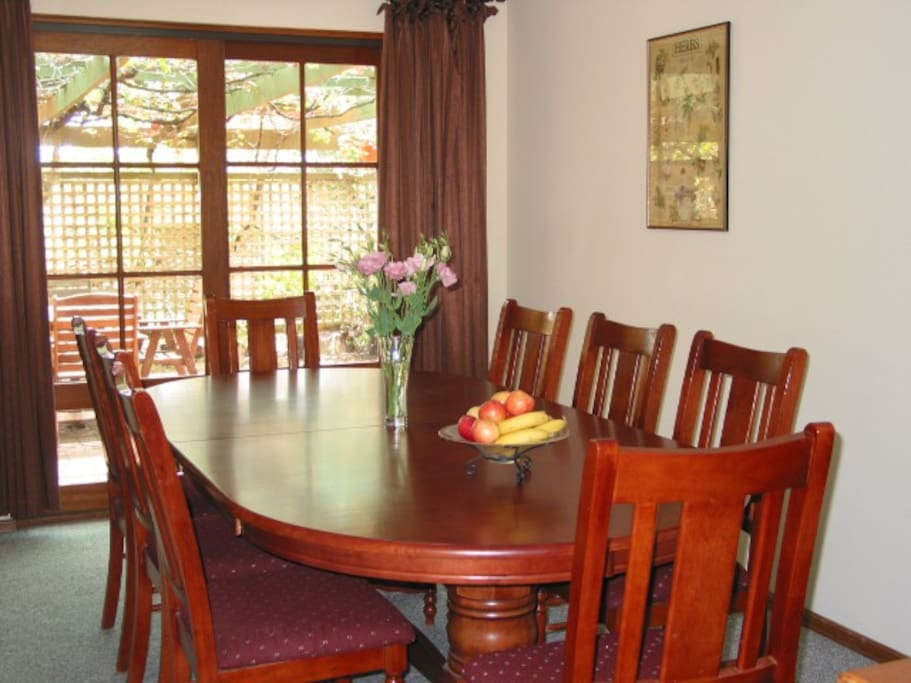 Formal Dining (up to 10 chairs)