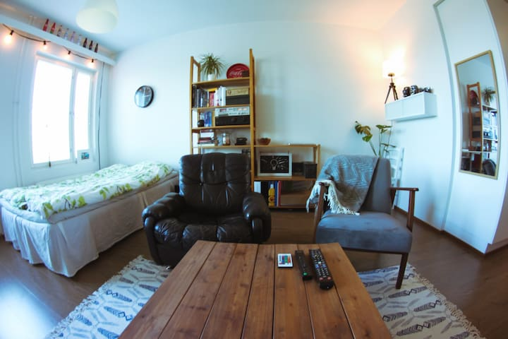 Cosy studio apartment in Joensuu