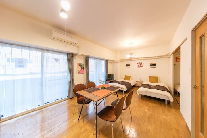 Large&Inviting♪ Homey room in Center of Osaka!#12