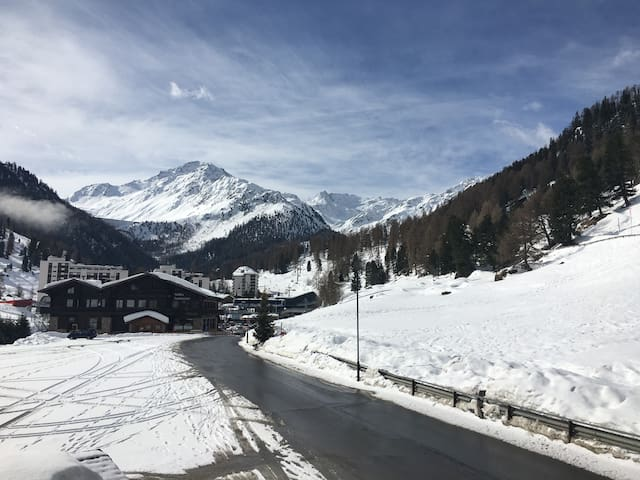 nice 2 bedroom apartment in 4Vallées near Verbier