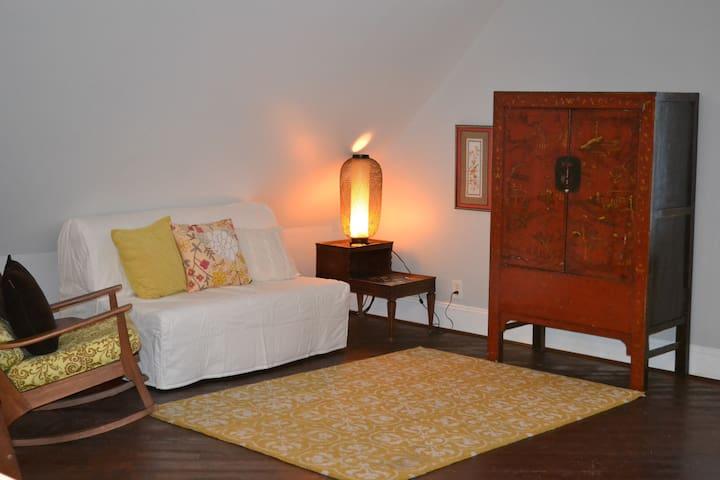 Cozy private garage apartment in Houston Heights - Houston - Apartamento