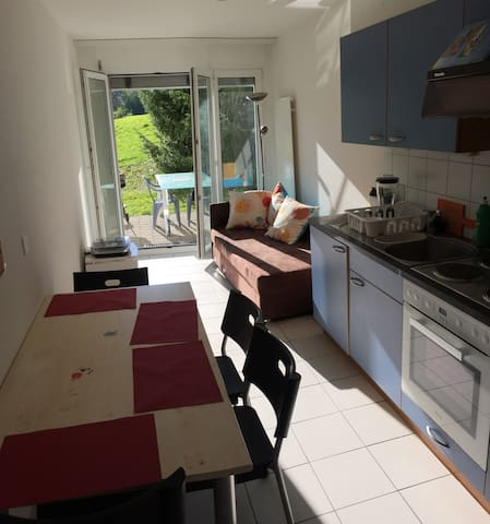 Lovely apartment in Fribourg - Marly - Byt