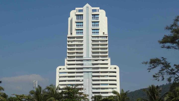 PATONGTOWER 高级精品海景两卧两卫整套公寓20层一梯四户100米抵达酒吧街 芭东海滩