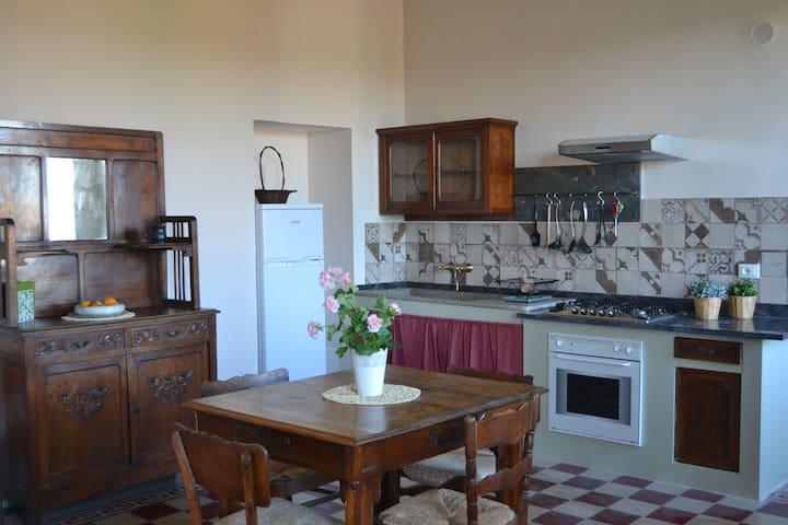 Palazzo della Contessa, Apartment max. 6 persons - Montescudaio - Apartament