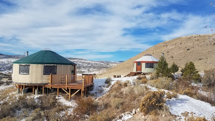 Magpie Springs Yurt Complex