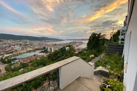 Place with panoramic view of Bergen