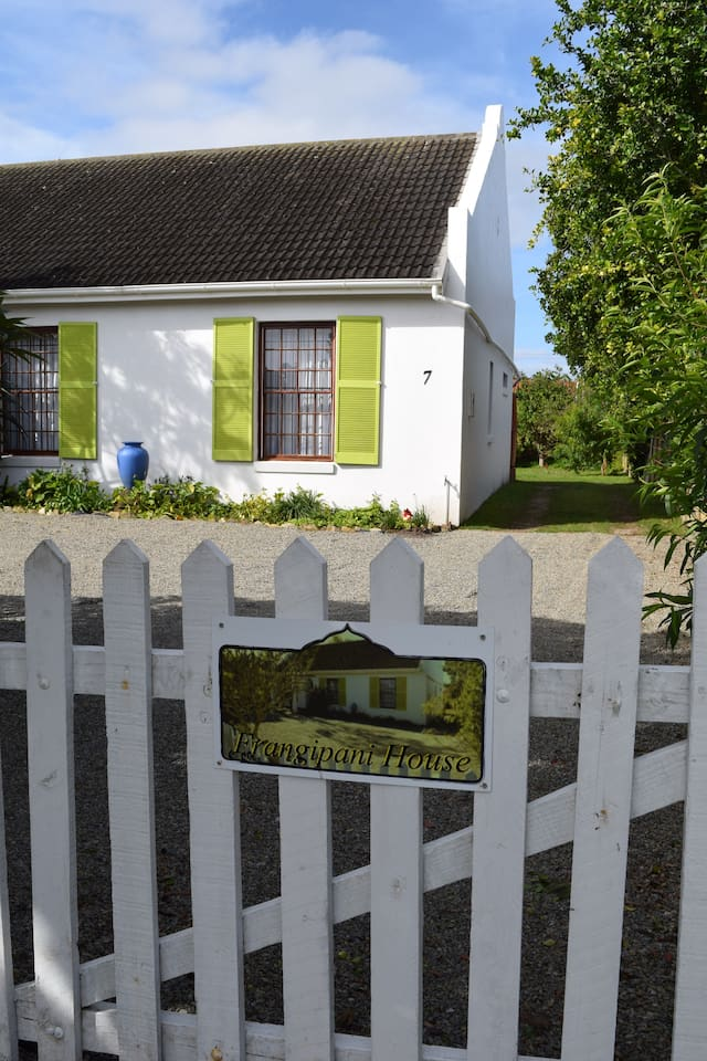 Gate to Frangipani House