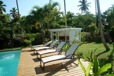 Bungalow w/kitchen close to the beach - Las terrenas  - Bungalow