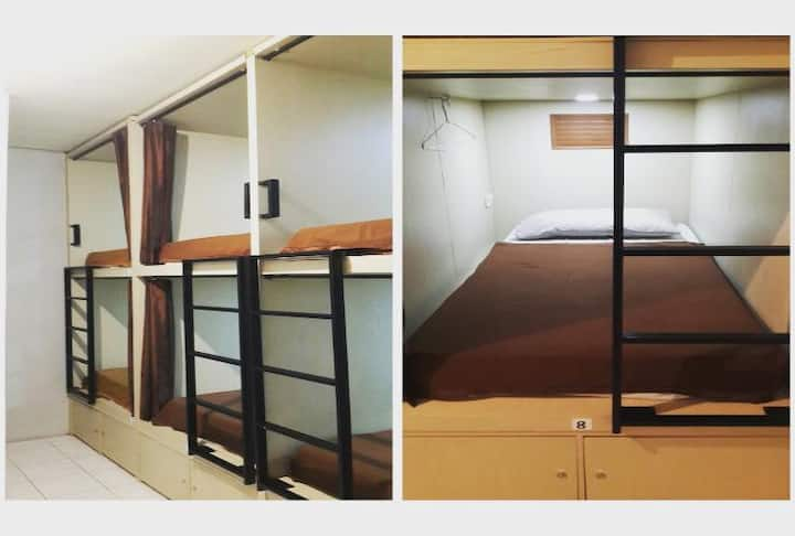 Cheap dorm bed in Bandung city center