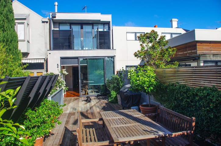 Fabulously renovated modern terrace - South Melbourne - Hus