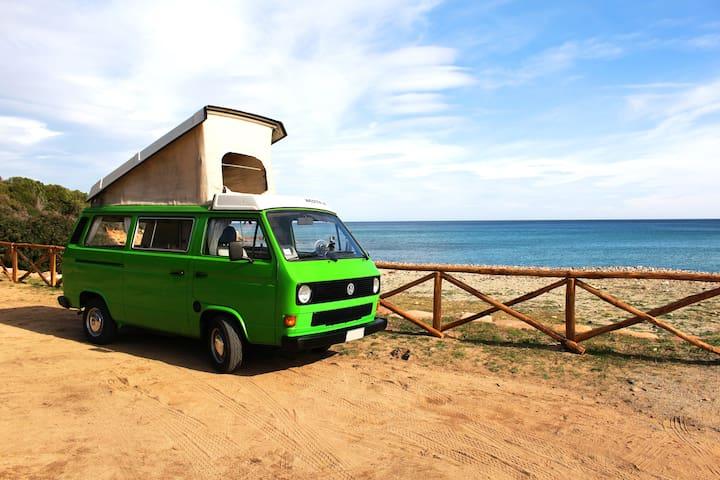 Camper El Niño . discover Sardinia - Bari Sardo - Camper