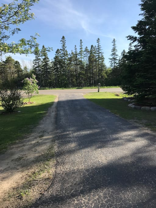 Driveway to US Hwy 23