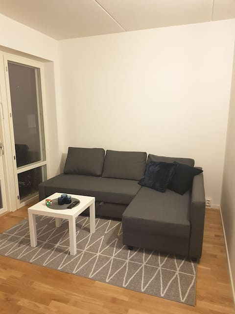 Newly built one bedroom apartment