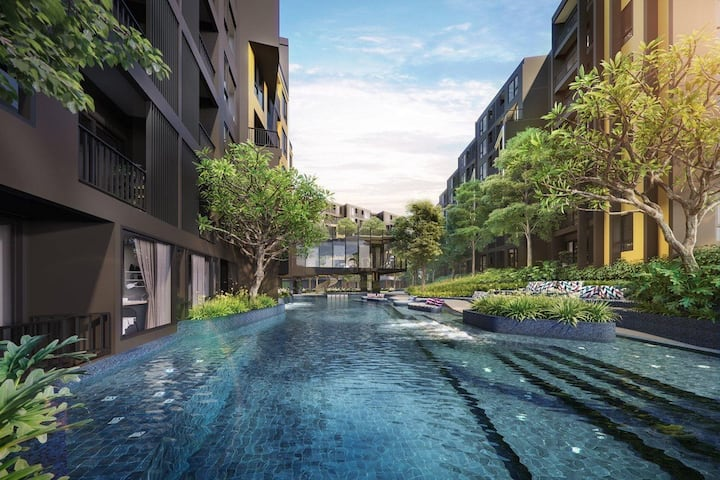 PU02: The BASE/Phuket/Cozy room/Beautiful Pool&Gym