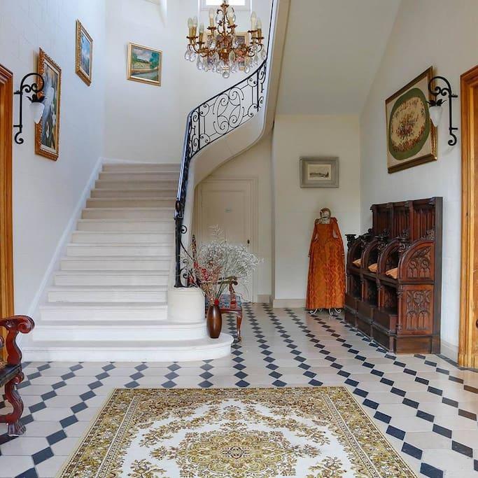 Hall d'entrée du Château