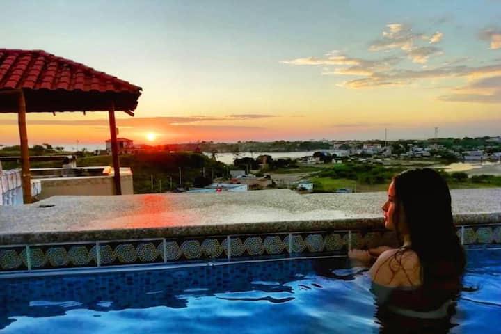 Hostería Las Terrazas : Mejor vista y Hospitalidad
