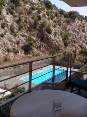 T2 résidence avec piscine - proche des plages.