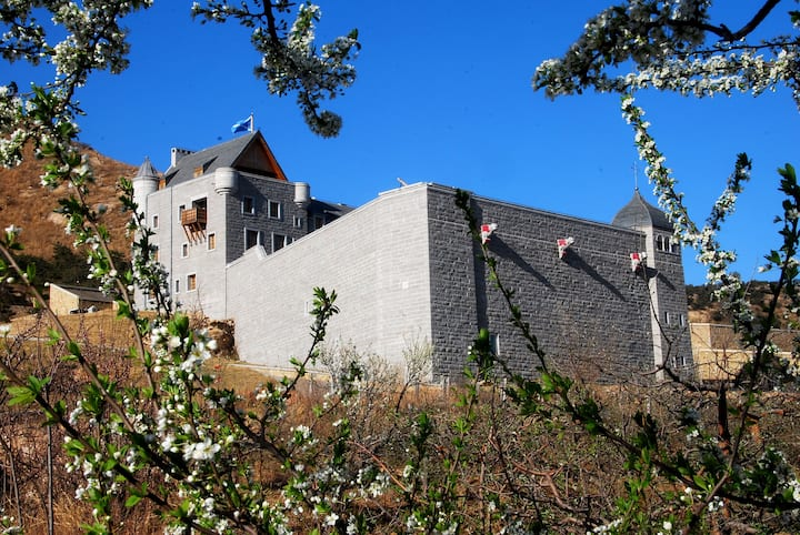 Scottish Castle in China, luxury private wedding