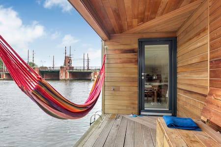 Amazing Houseboat, Premium Spot on Amstel River - Amsterdam - Vaixell
