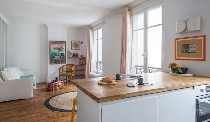 Chic & Romantic Flat in Montmartre