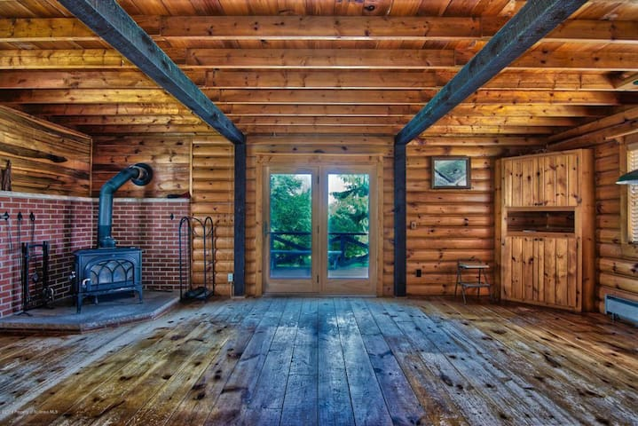 5 Miles from Elk Mountain: Rustic Home on 21 Acres