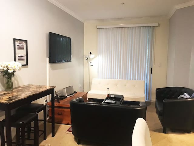 Condo 5 mins from UCI, Downtown, Airport & Beaches