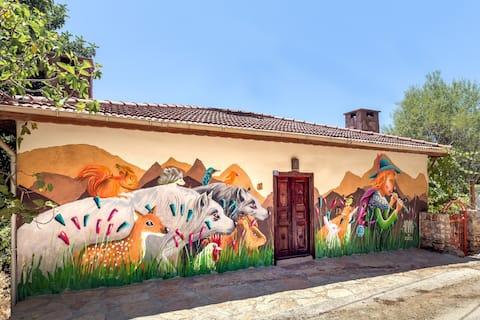 Kokopelli Lycian Way House au village Çukturağ