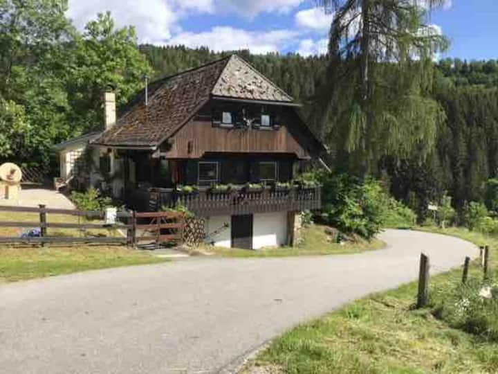 Traumhaftes Jagdhaus für Künstler und Abenteurer