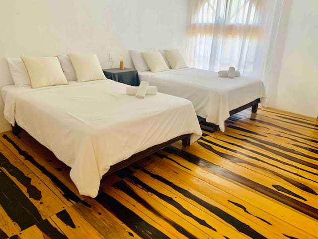 MADRE HOLBOX Peaceful stay.Convenient location