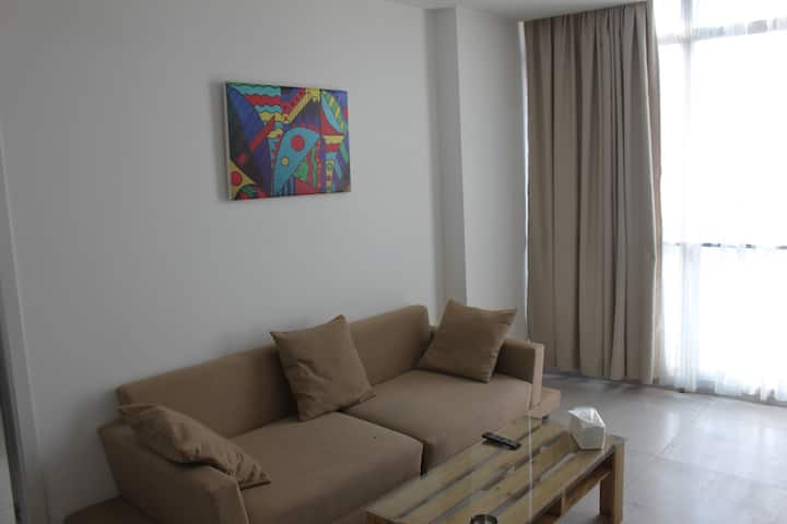 Beirut Port View 1-Bedroom Apartment
