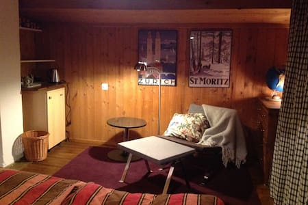 cosy attic room plus open space - Schmitten - Casa