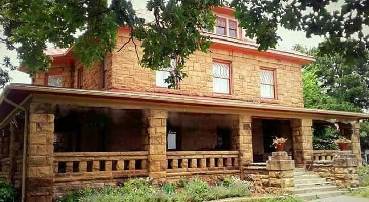 Historic bed and breakfast in small town Oklahoma