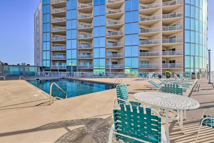 NEW! Beachfront Biloxi Condo w/ Resort Amenities!