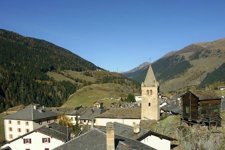 Studio chaleureux dans petit village de montagne - Bourg-Saint-Pierre