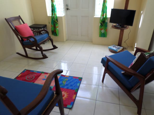 Inniss Apartment - Budget Price, high-priced area.