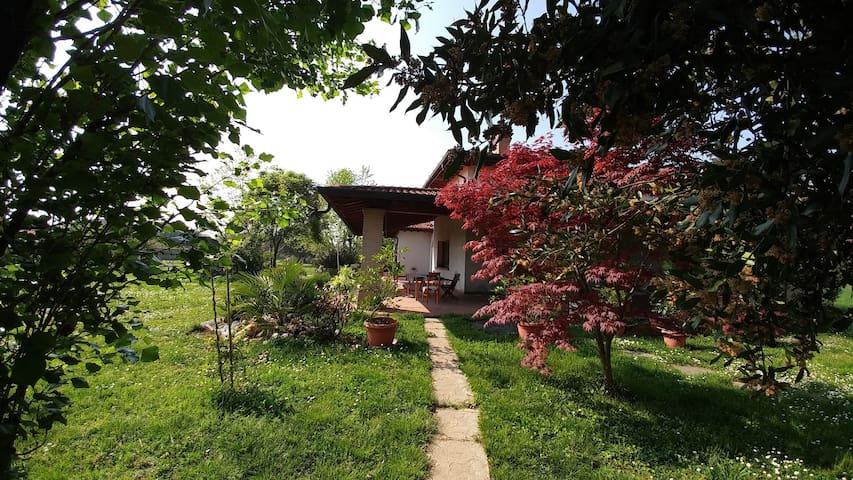 Villa in franciacorta, accogliente e tranquilla