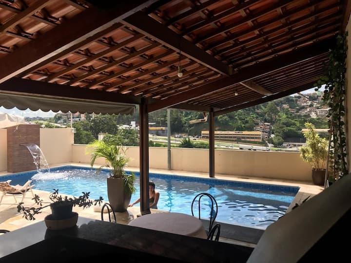 Aluguel para Eventos / Day Use área com piscina