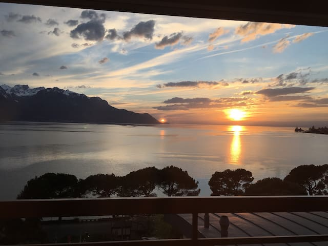 Apparteme  Montreux  à 100 m du lac - Montreux - Apartment