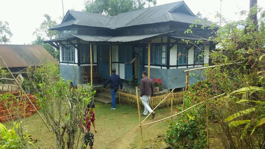 Meghalaya Village Mawlynnong Nongrai-Homestay - Mawlynnong - Huis