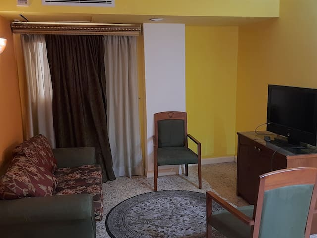 Furnished apartment in downtown with all services