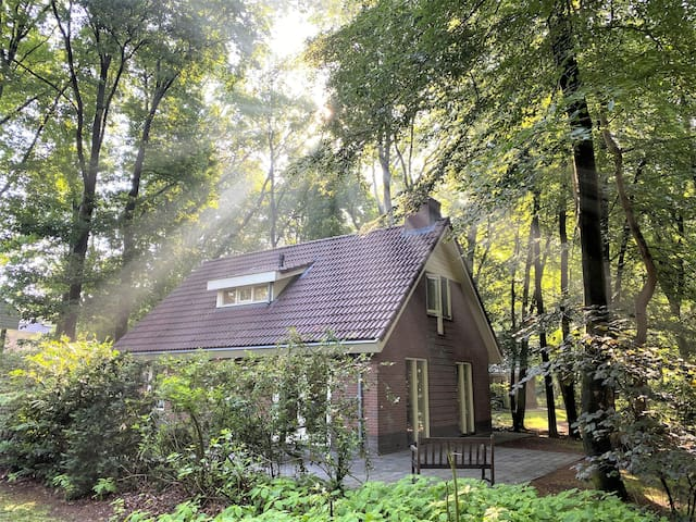 Lovely bungalow in quiet area 2-8 persons