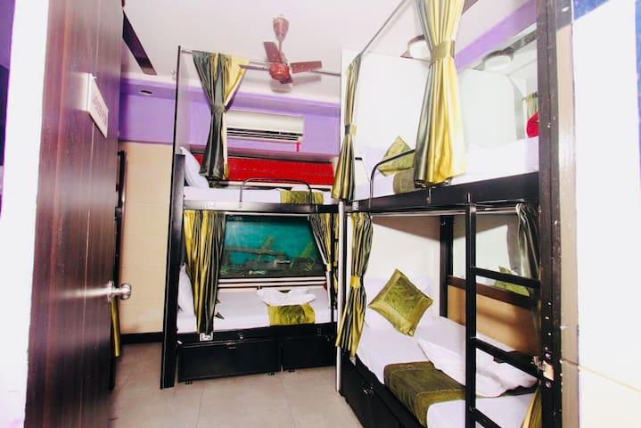 QubeStay Town Hostel