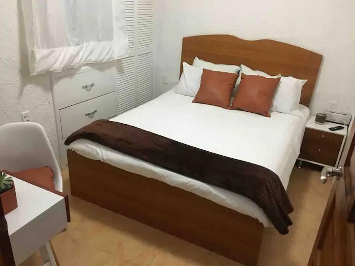 Habitación privada en casa rústica en la CDMX