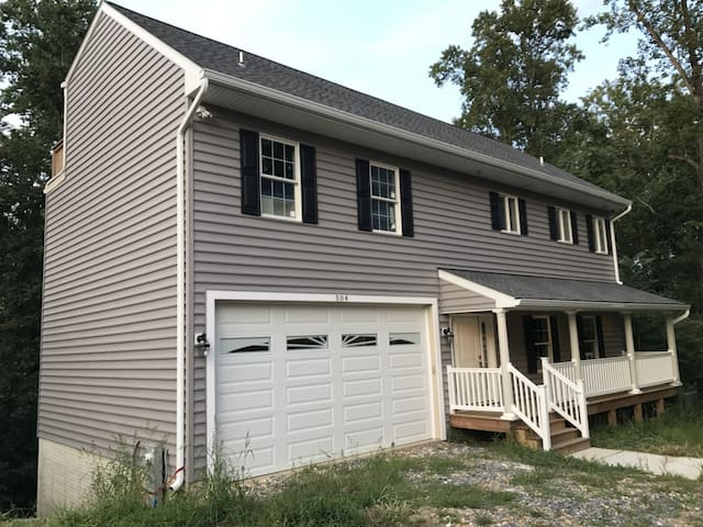 two story cape cod type home.  new constuction.