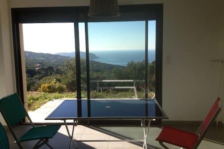 T2 neuf calme vue imprenable sur le golf d'Ajaccio - Coti-Chiavari - Wohnung